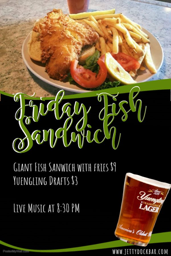 Friday Fish Sandwich